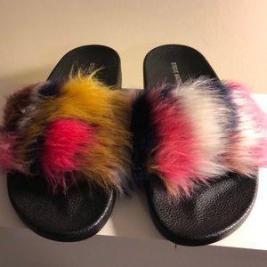Steve Madden softey softey slide sandals